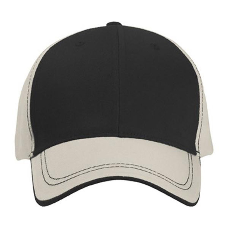 Polyester Cap With Visor Trim