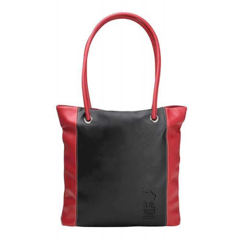Lamis Two-Tone Tote