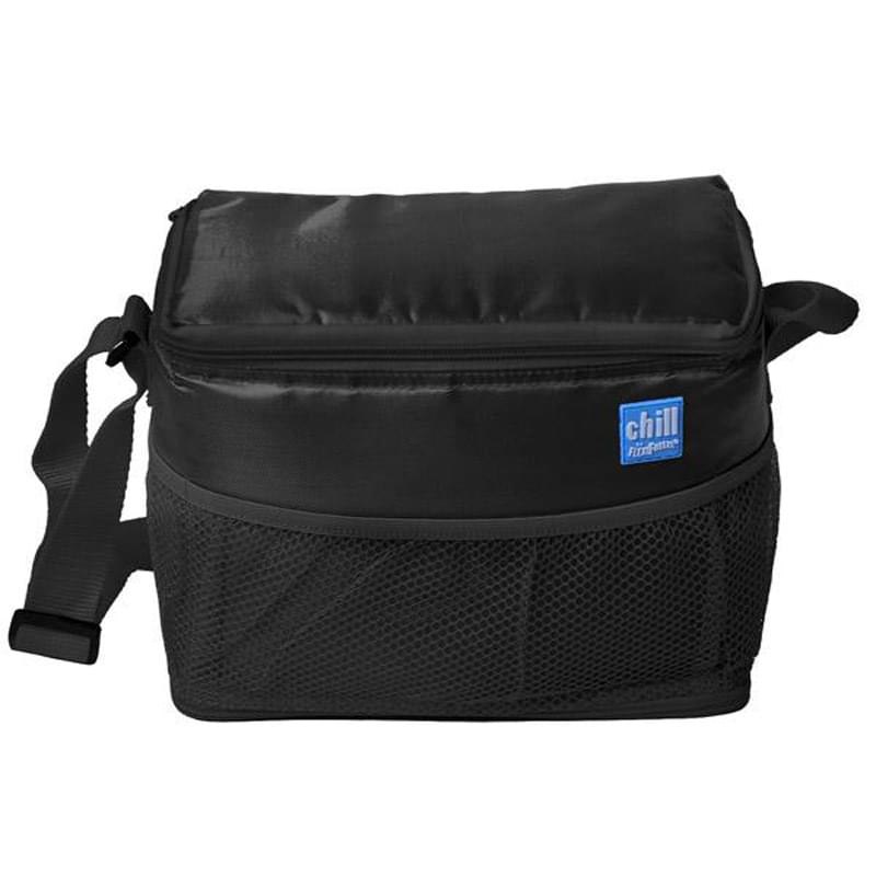 Chill By Flexi Freeze   6-Can Cooler With Mesh Pockets