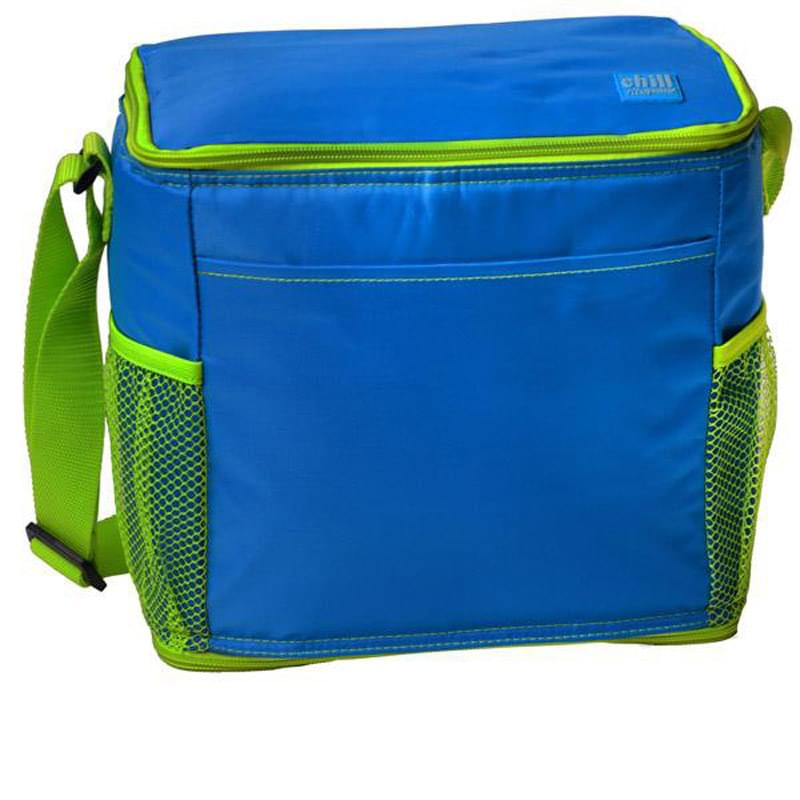 Chill By Flexi-Freeze   12-Can Cooler With Mesh Pockets