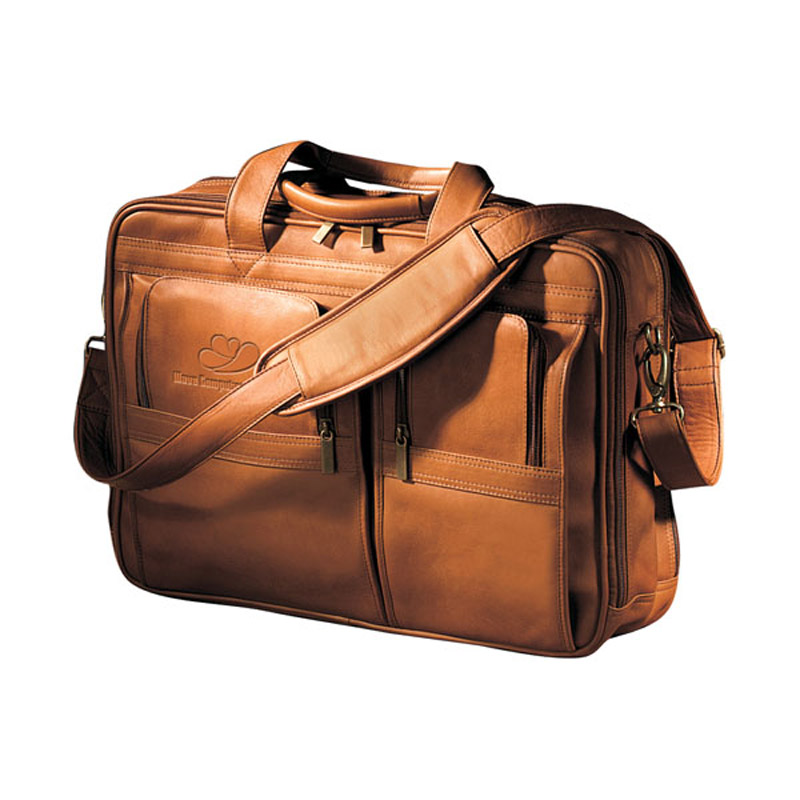 Vaqueta Contemporary Laptop Briefcase