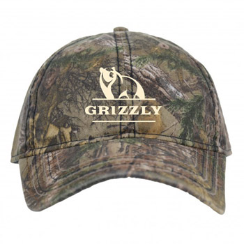 Camo Cap With Flag Print Undervisor