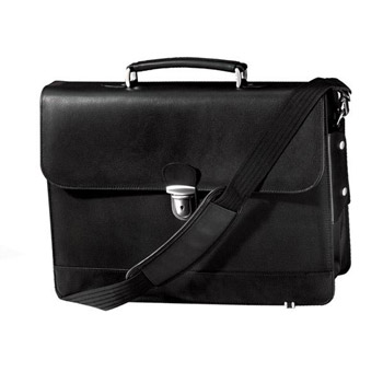 Metro Flapover Laptop Briefcase