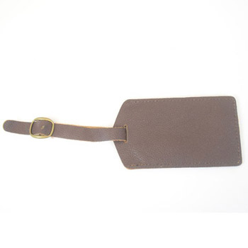 Metro Leather Luggage Tag