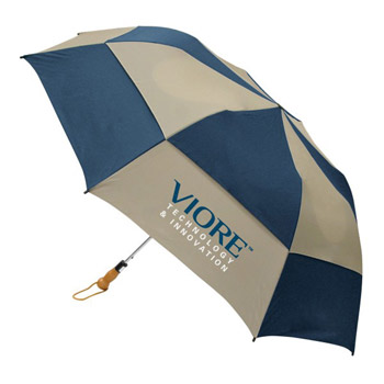 Traveler Deluxe Auto Open Folding Umbrella