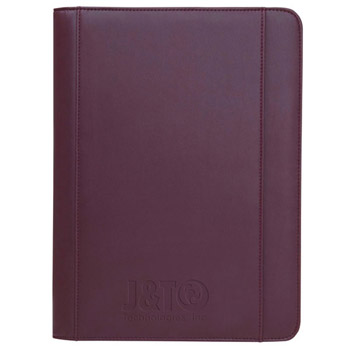 Ultrahyde Zippered Padfolio