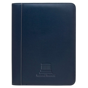 Lamis Zippered Padfolio