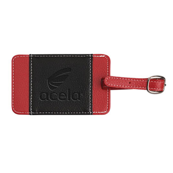 Lamis Two-Tone Luggage Tag