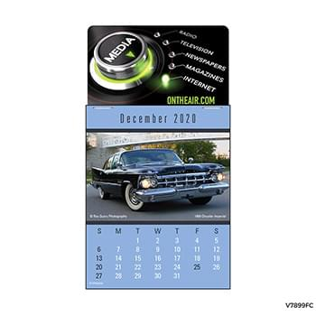 Four Color Press-N-Stick   Cruisin Cars Pad