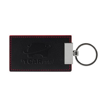 Leather Color Accent Key Holder