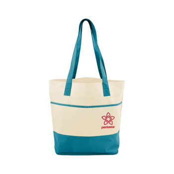 Mesh Bottom Beach Tote