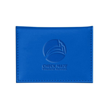 Soft Touch Business Card Wallet - Rfid